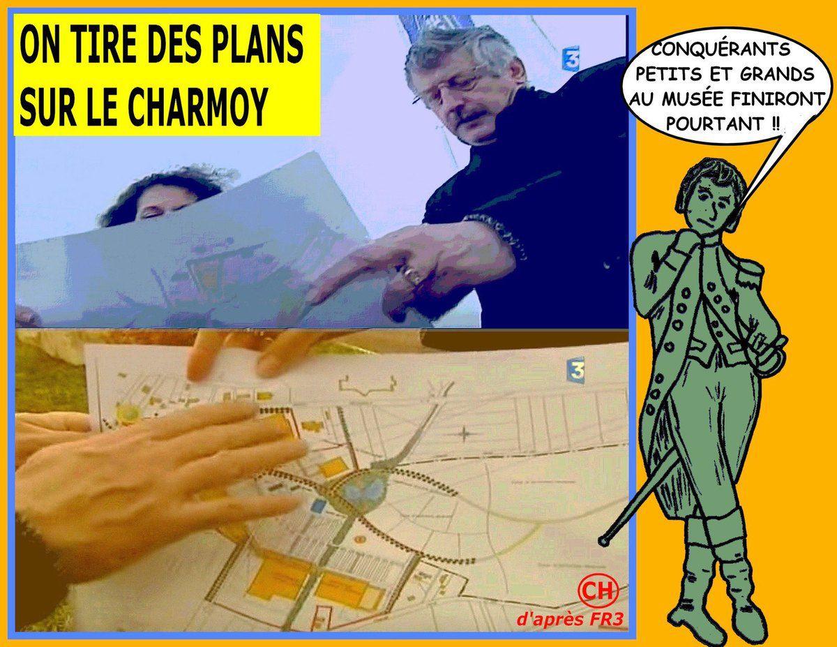 Le staff Leclerc au Charmoy