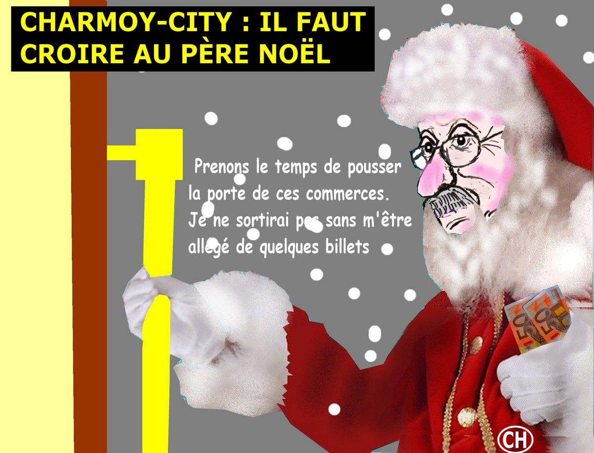 Charmoy-City, il faut croire au Père Noël