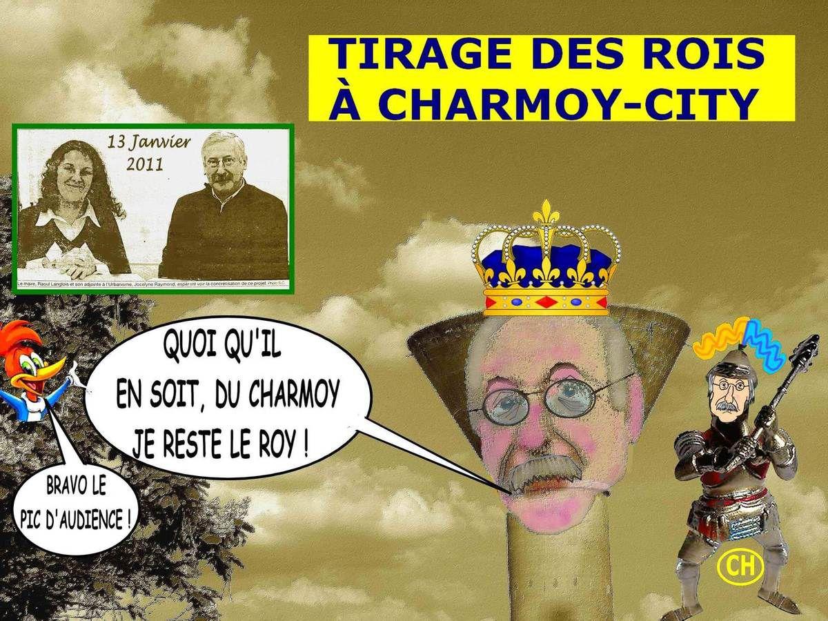 Tirage des rois à Charmoy-City