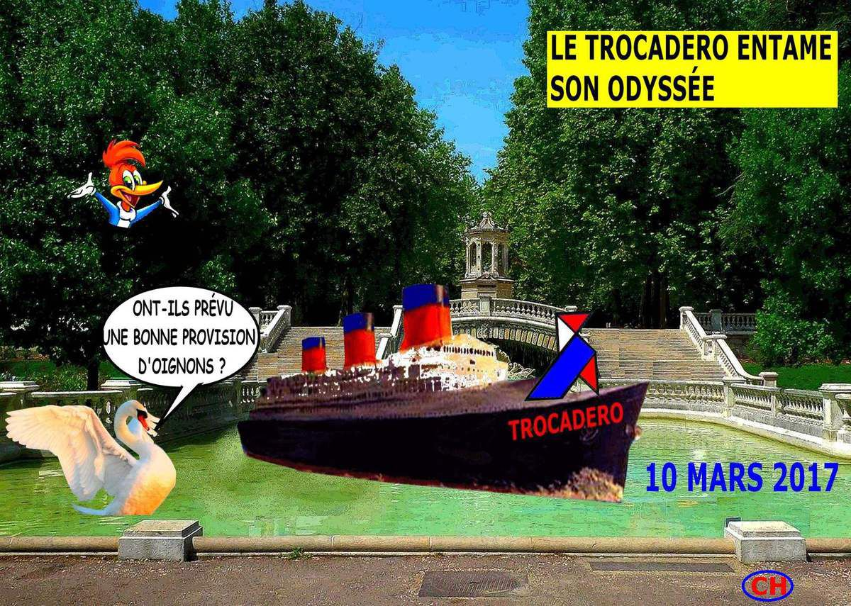 Le Trocadéro entame son odyssée avec des oignons