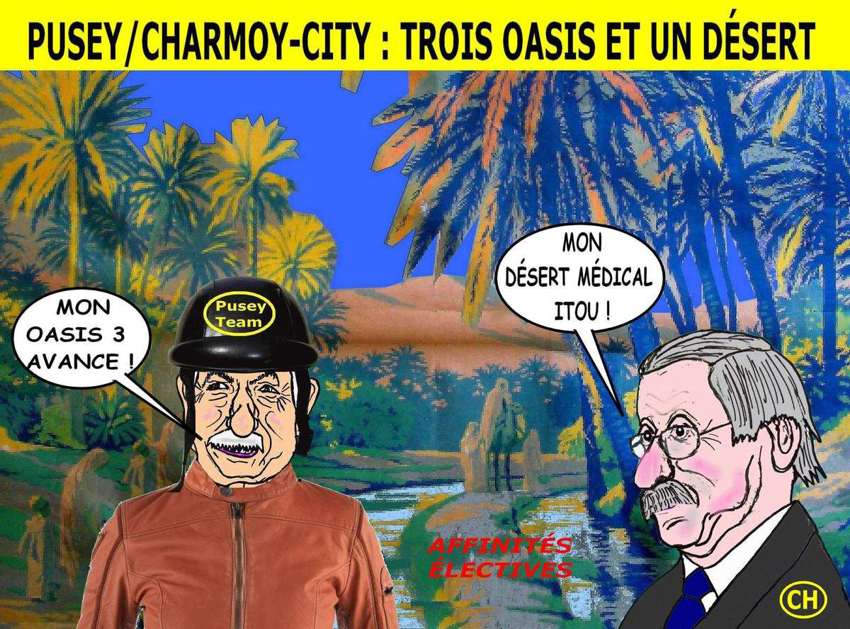De Charmoy-City à Pusey. désert et oasis