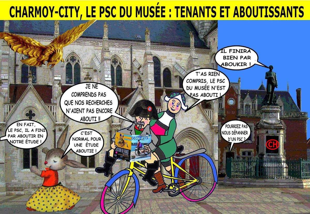 Charmoy-City, le PSC du Musée, tenants et aboutissants