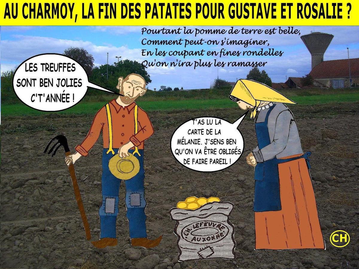 PSC au Charmoy, les Patates Sont Cuites