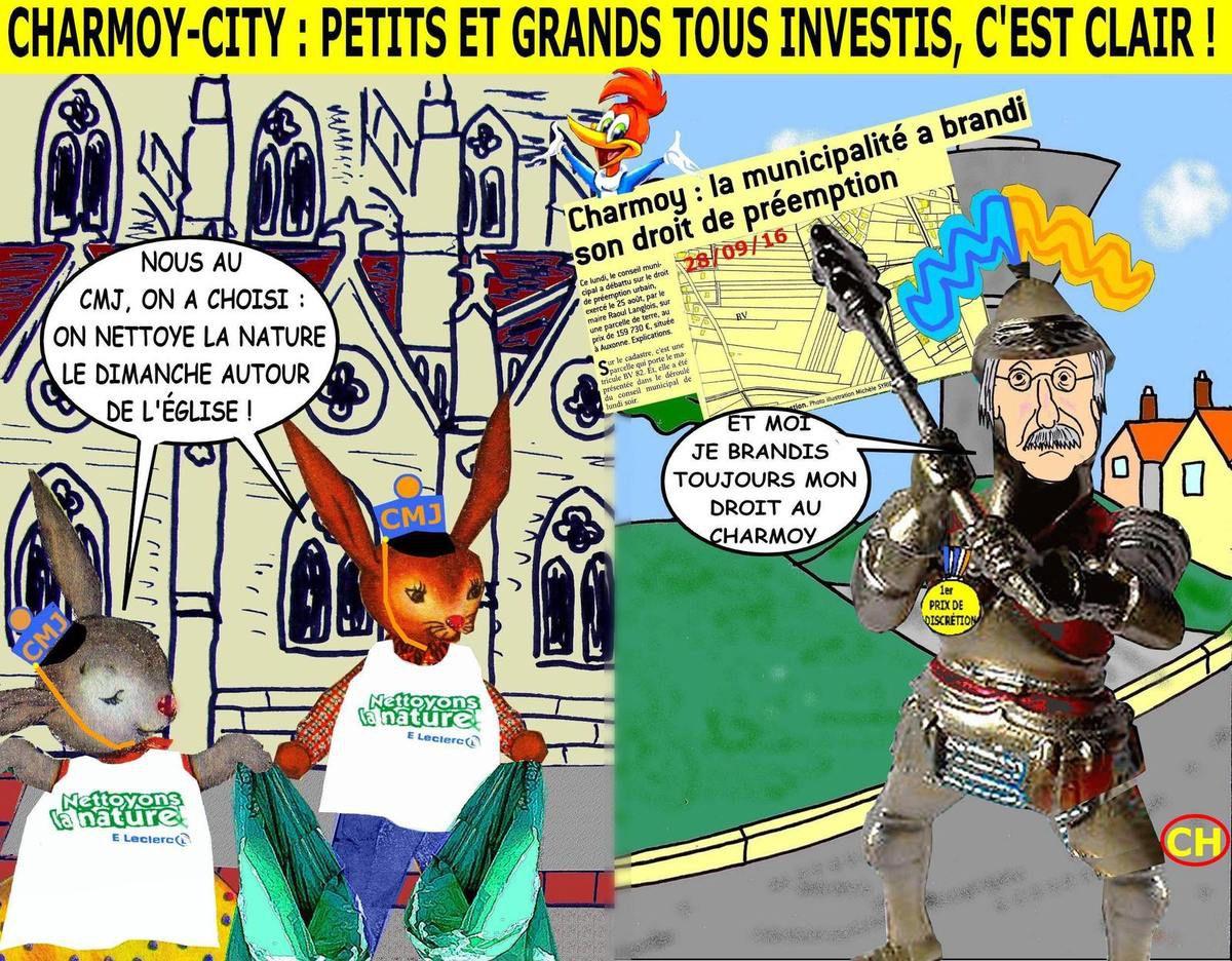 Charmoy-City CM et CMJ tous investis pour Leclerc
