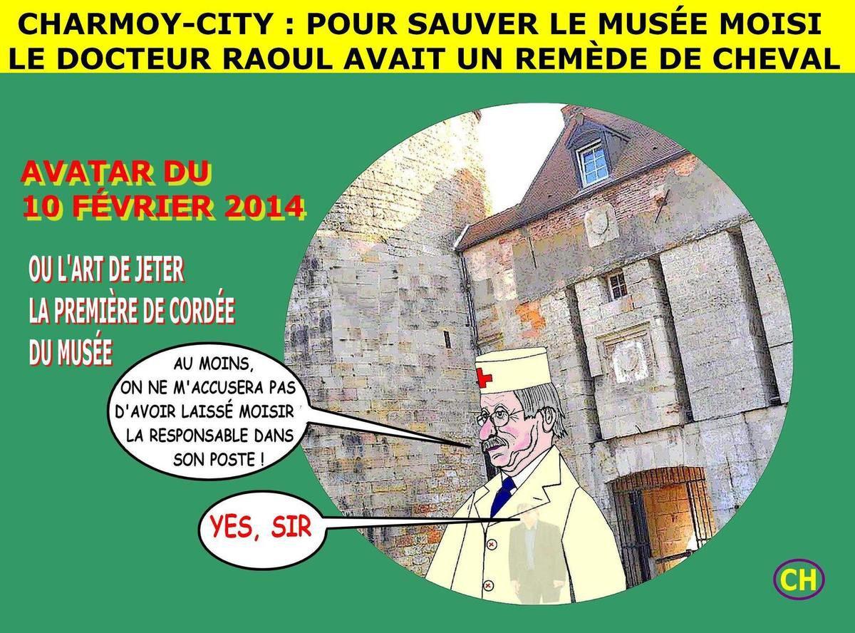 Charmoy-City avatar pour le musée malade