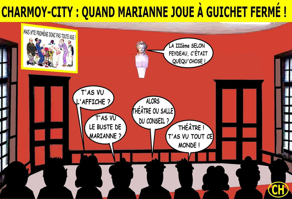 Charmoy-City, quand Marianne rencontre Feydeau