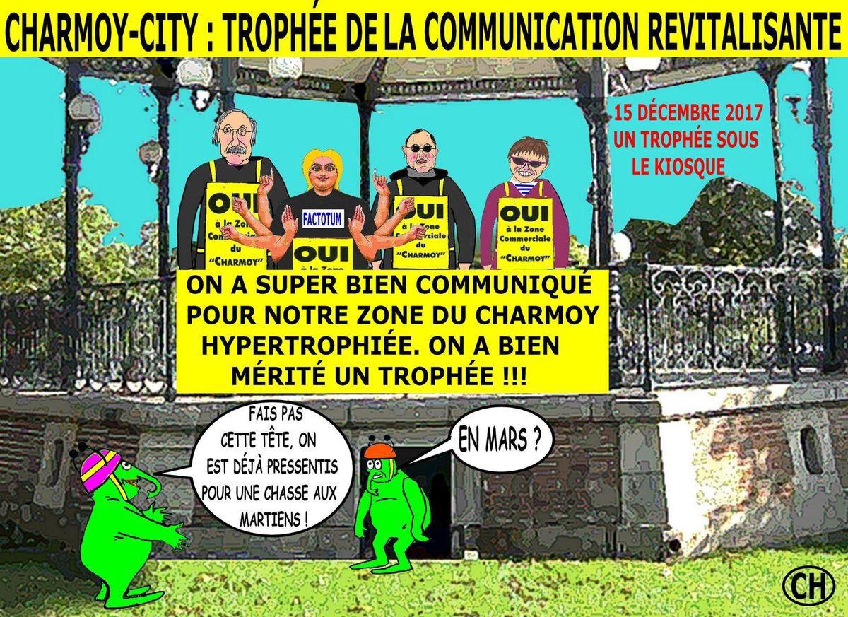 Charmoy-City trophée de la communication revitalisante