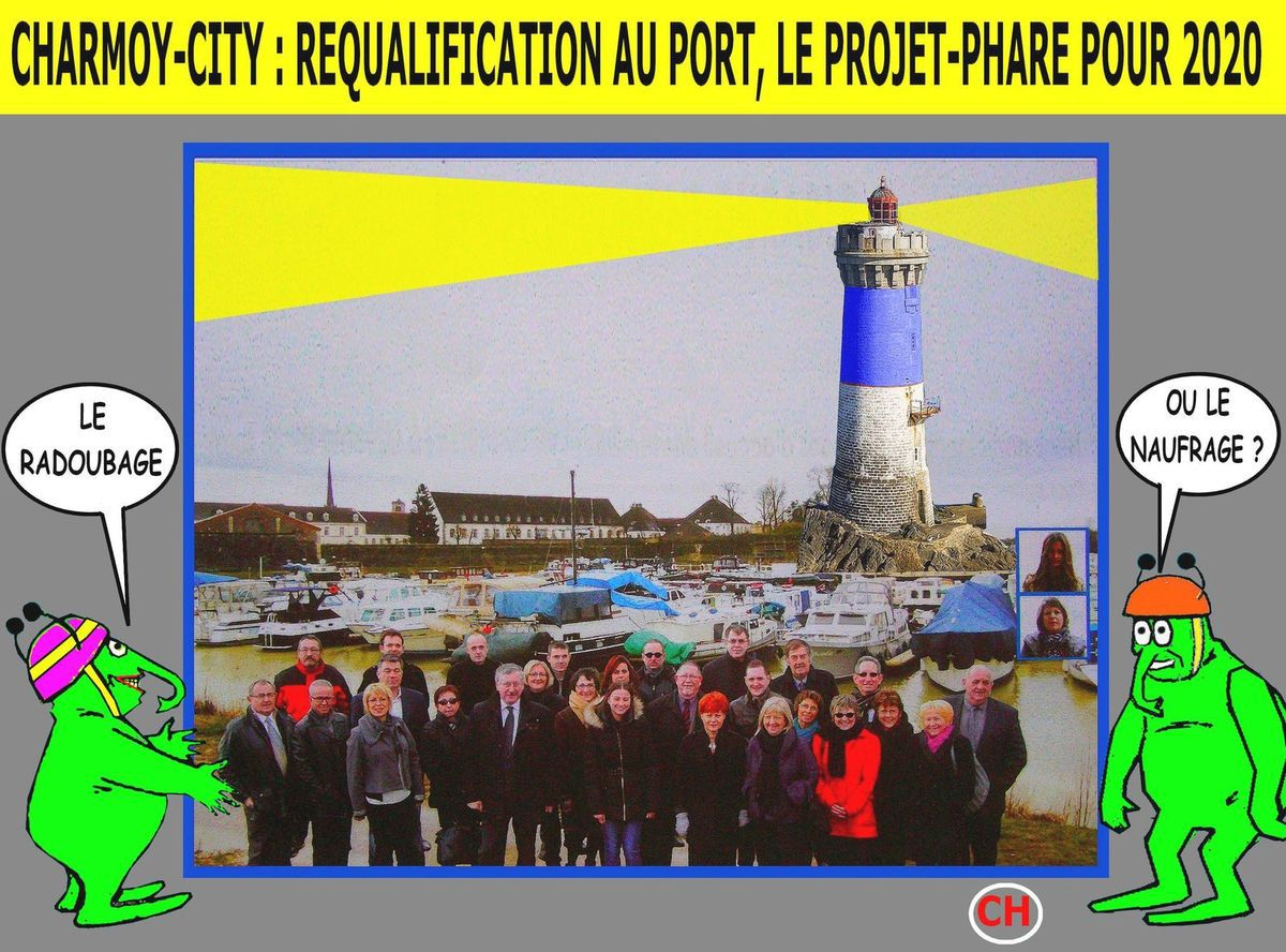 Charmoy-City, requalification au port, le projet-phare pour 2020