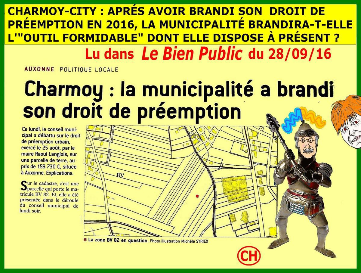 Charmoy-City , l'outil formidable