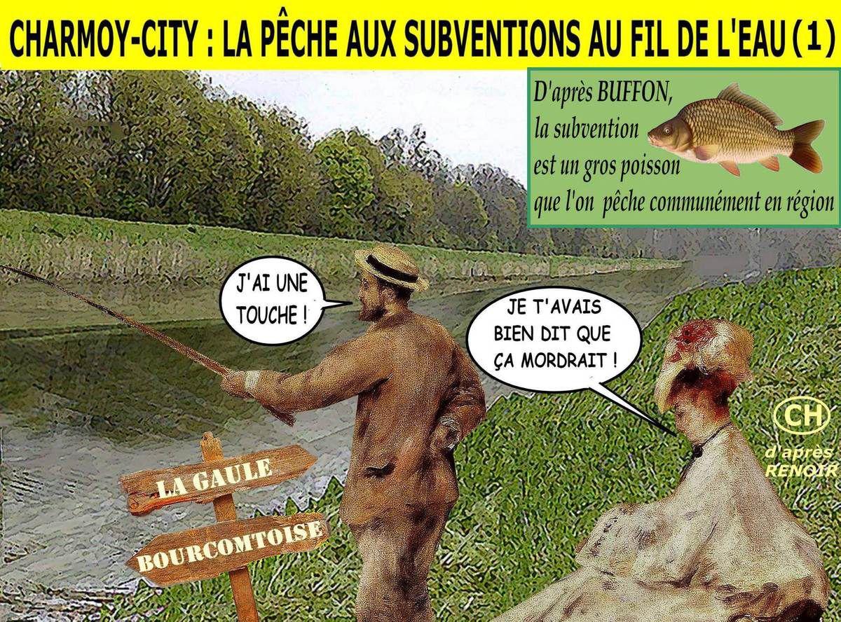 """Charmoy-City : la pêche aux subventions """"au fil de l'eau"""""""