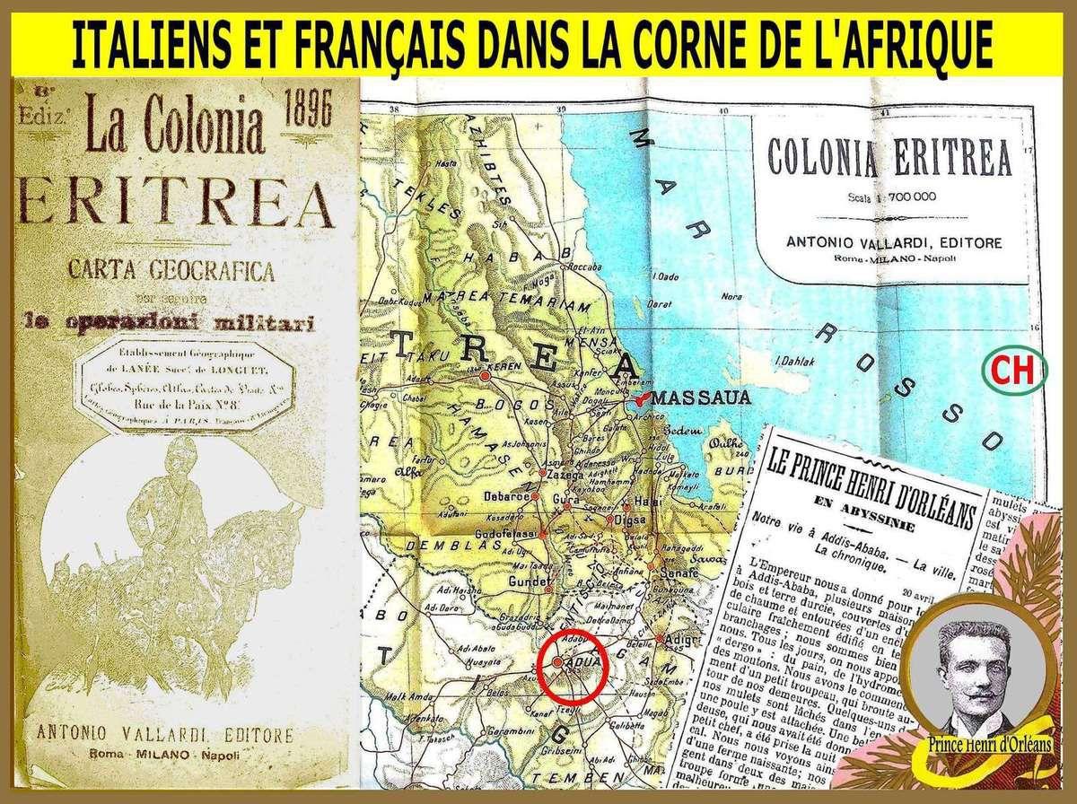 Italens et Français dans la Corne de l'Afrique