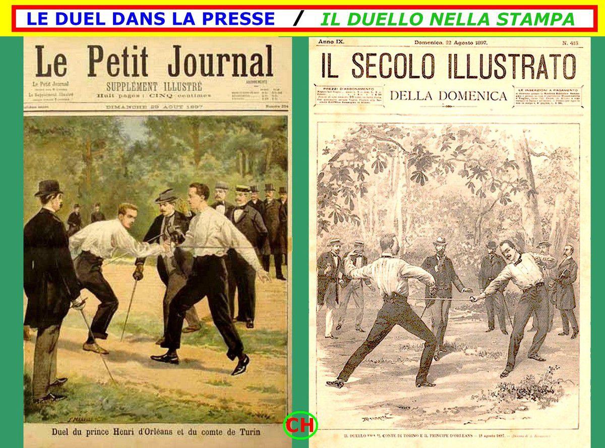 France-Italie 1897 : duel dans la presse