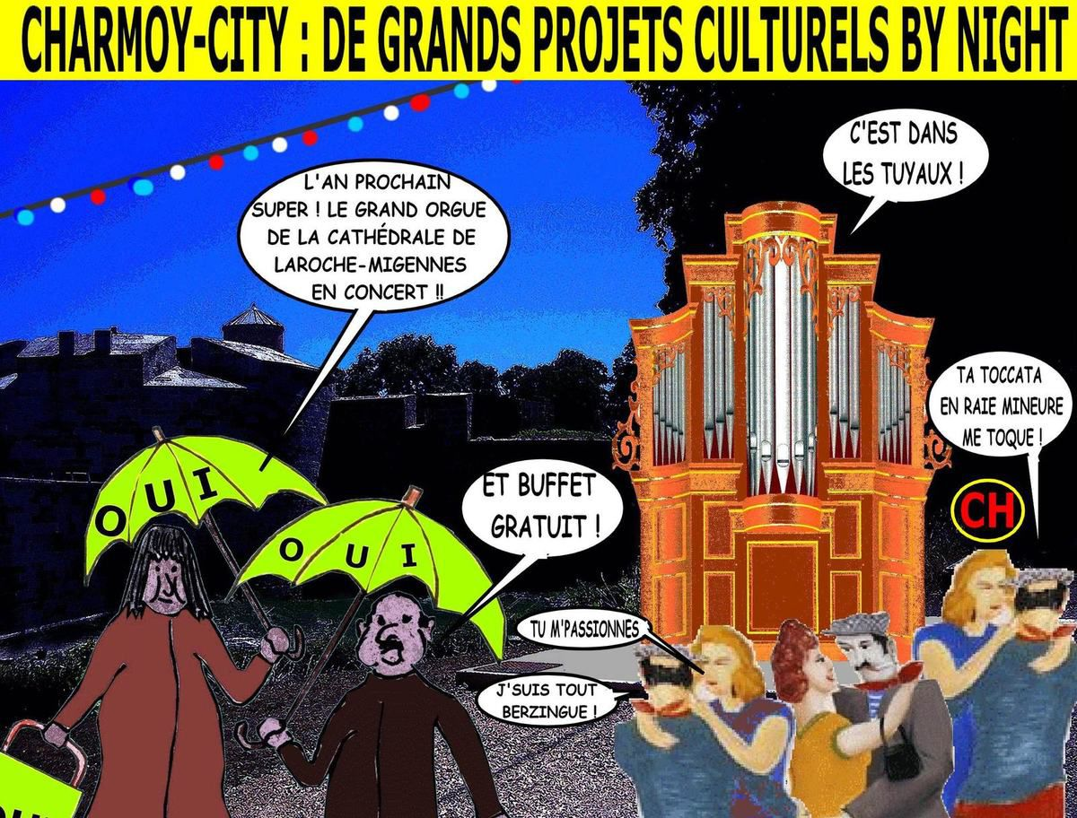 Charmoy-City : de grands projets culturels by night