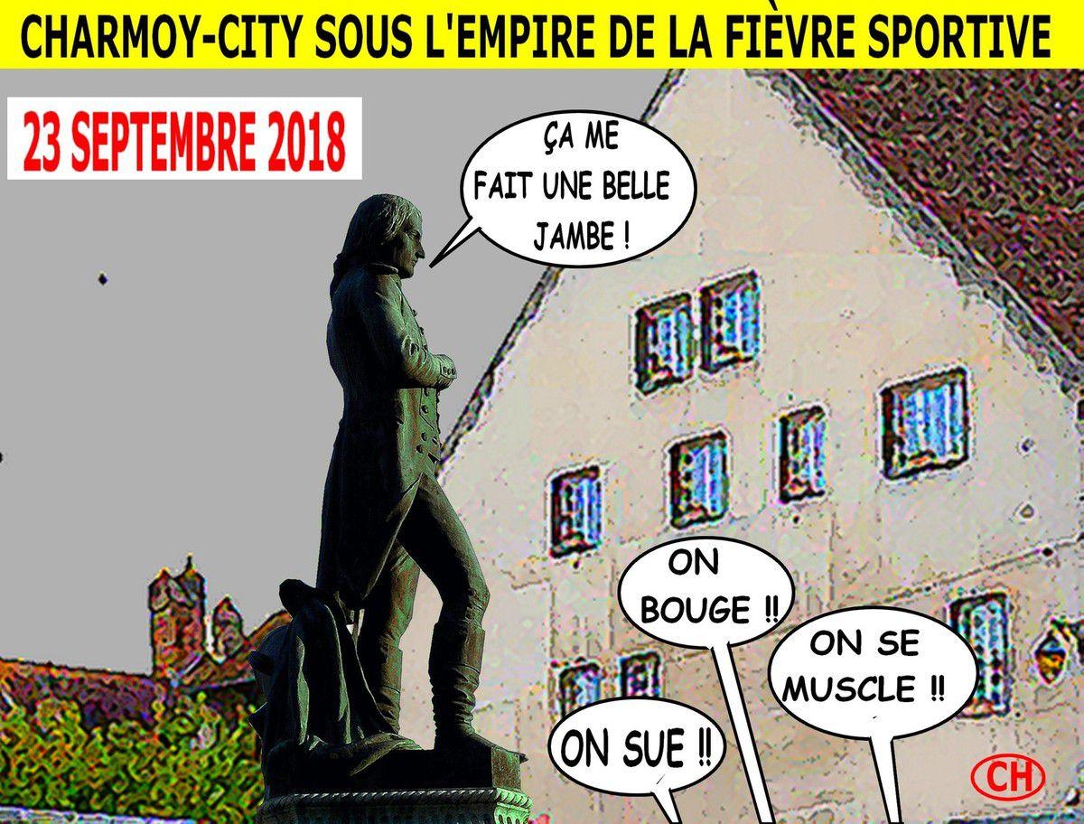 Charmoy-City sous l'empire de la fièvre sportive