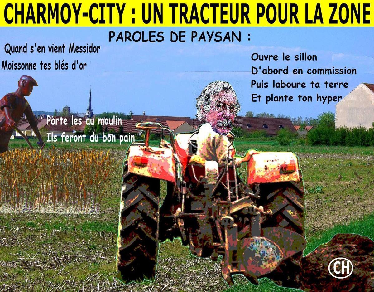 Charmoy-City, un tracteur pour la zone