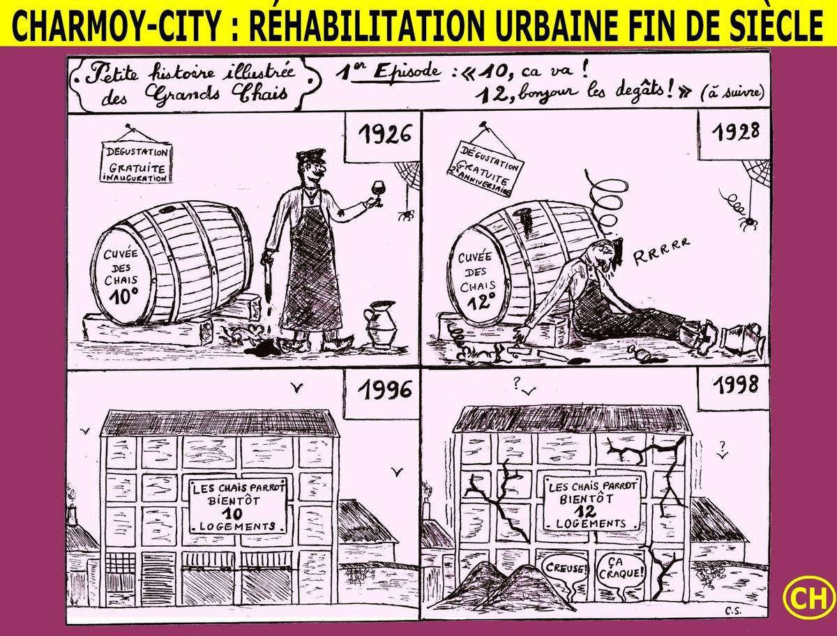 Charmoy-City, réhabilitation urbaine fin de siècle