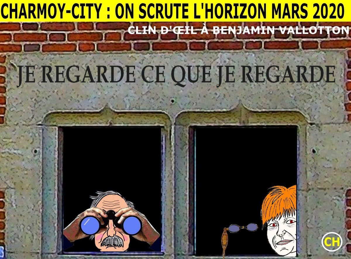 Charmoy-City, clin d'oeil à Benjamin Vallotton