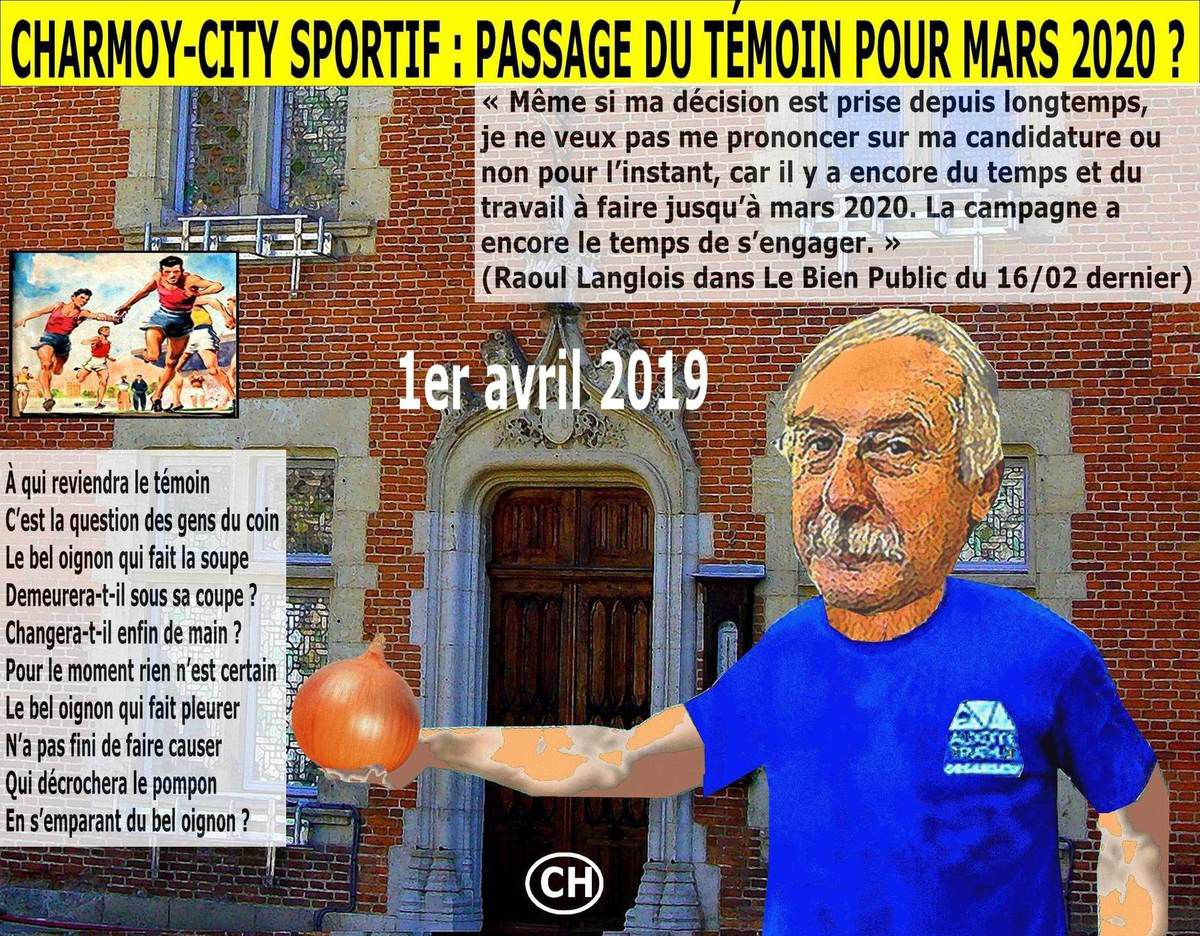 Charmoy-City sportif, passage du témoin pour mars 2020
