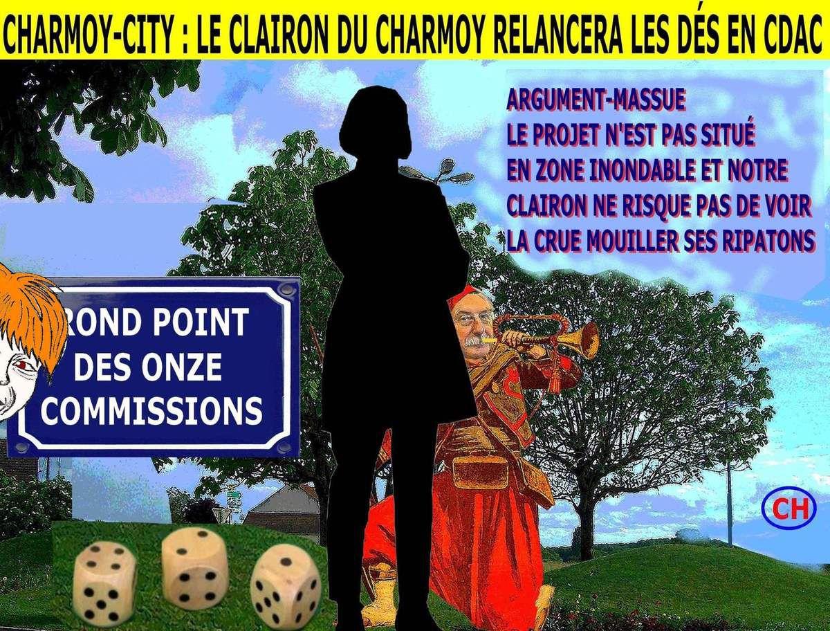 Charmoy-City, le clairon du Charmoy relancera les dés en CDAC