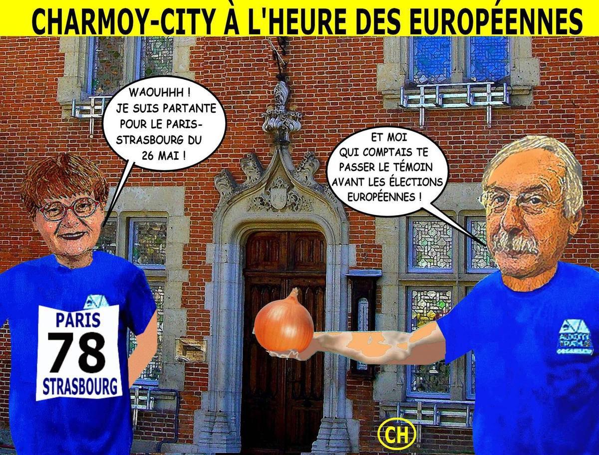 Charmoy-City à l'heure des Européennes