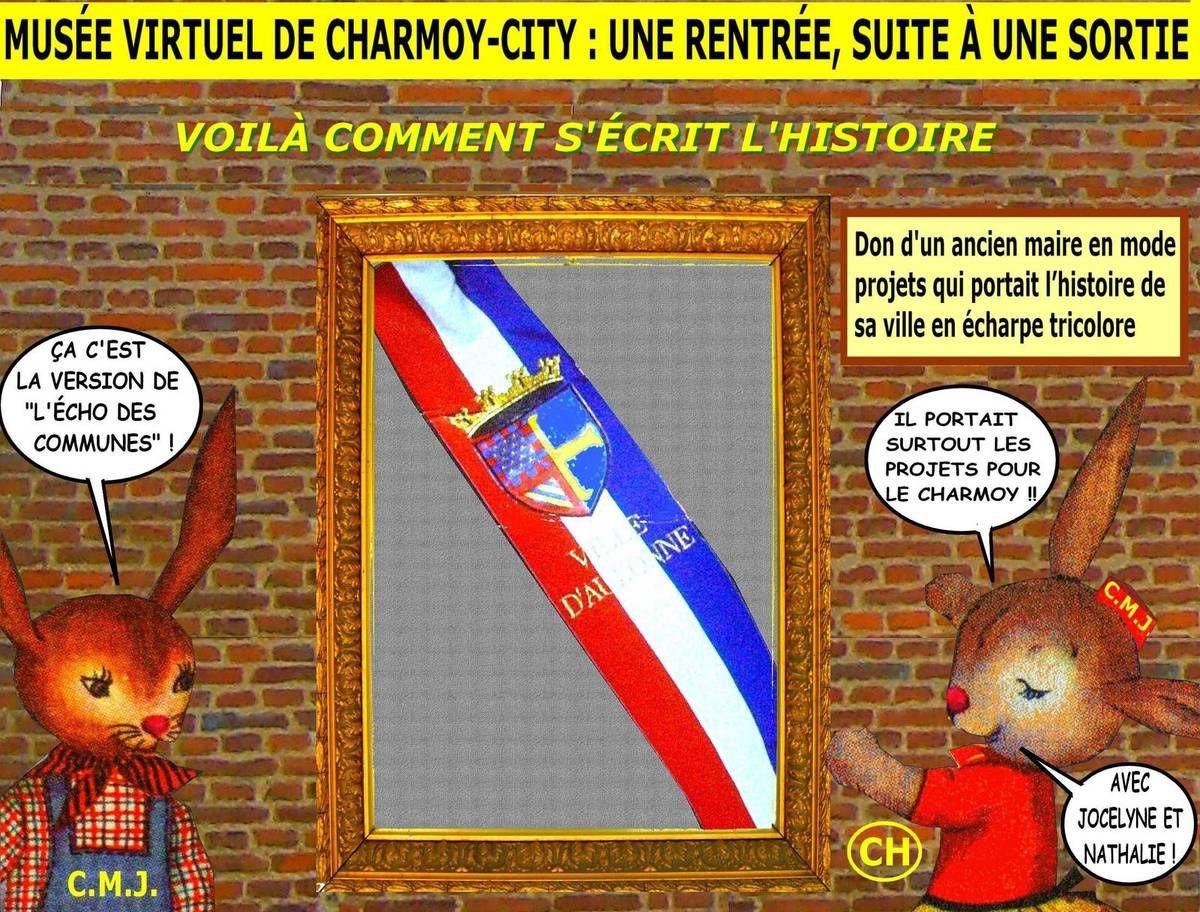Musée virtuel de Charmoy-City, une rentrée, suite à une sortie