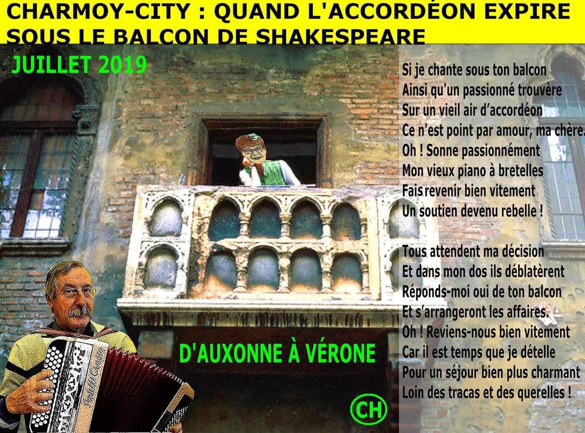 Charmoy-City, quand l'accordéon expire sous le balcon de Shakespeare