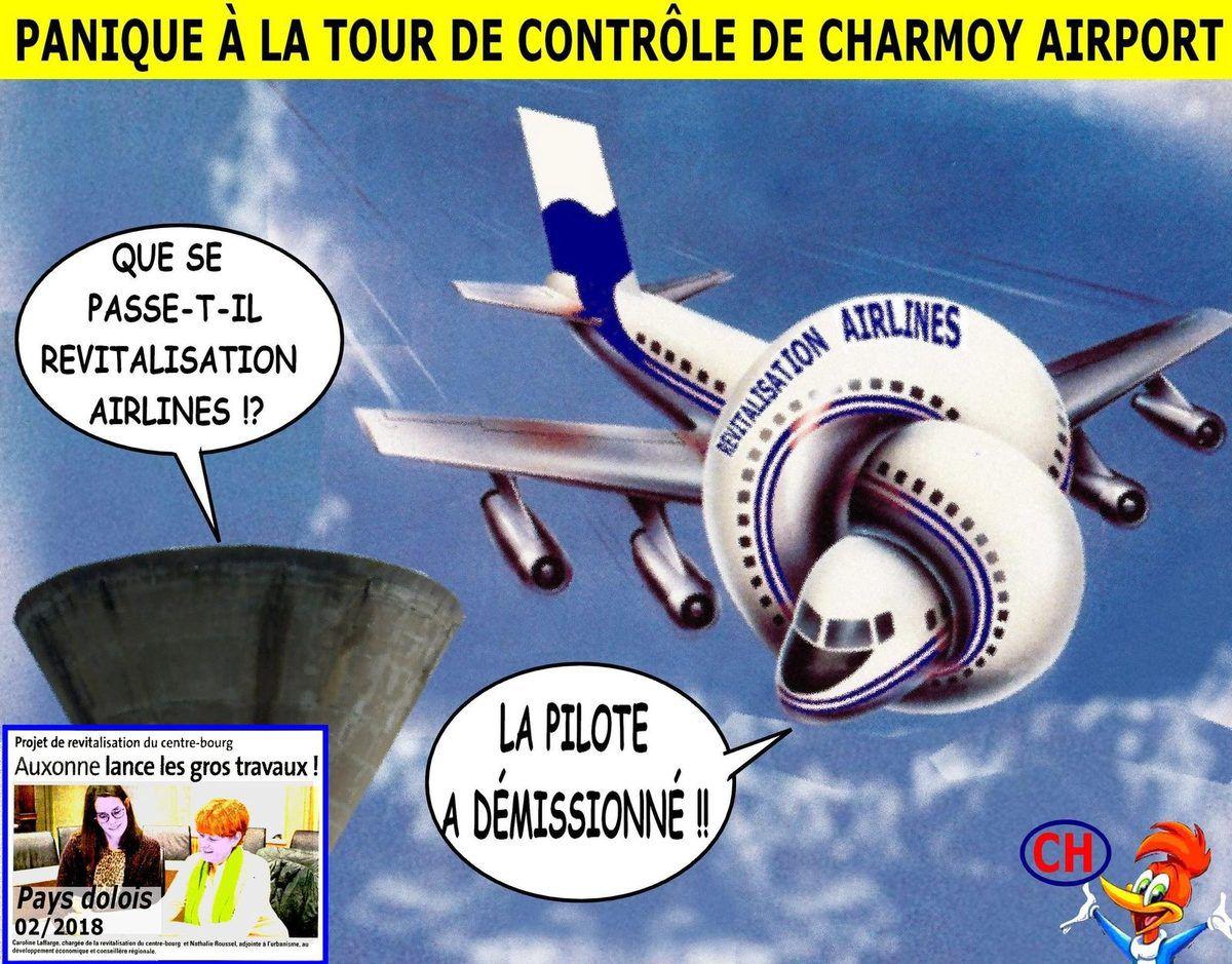 Panique à la tour de contrôle de Charmoy-Airport