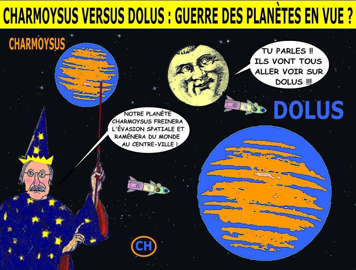 Charmoysus versus Dolus, guerre des planètes en vue