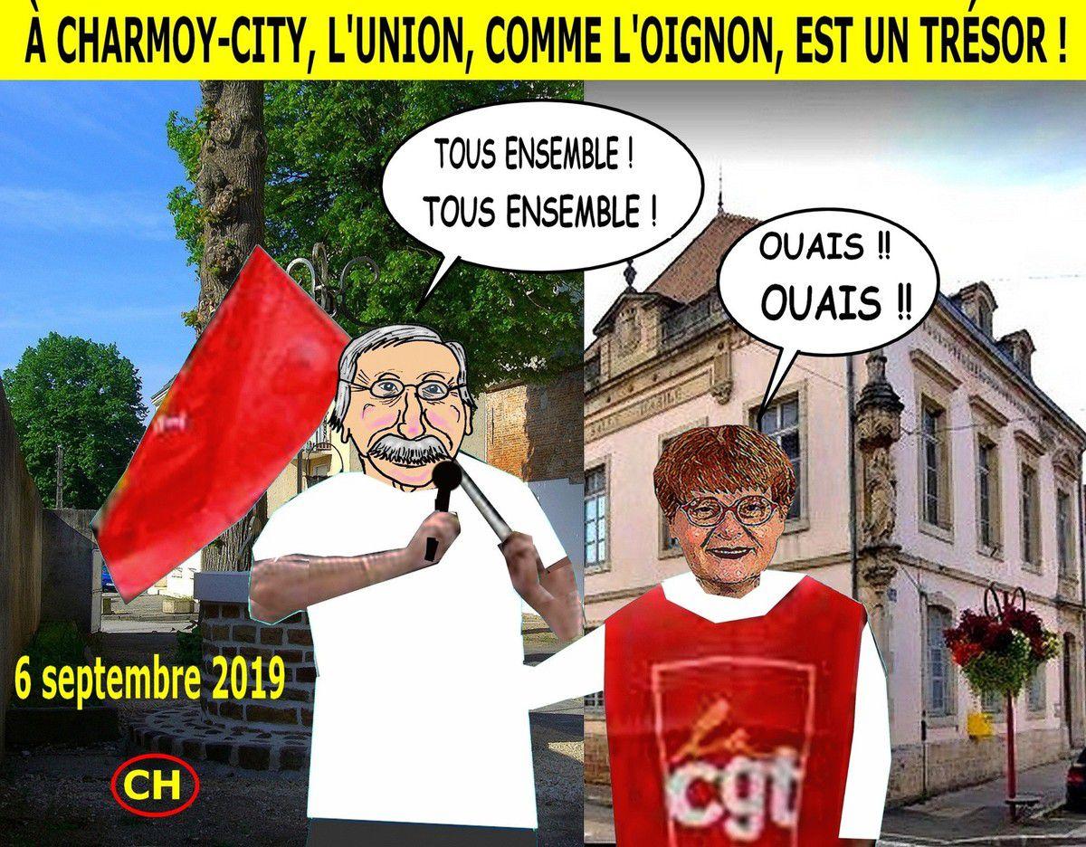 À Charmoy-City, l'union comme l'oignon est un trésor