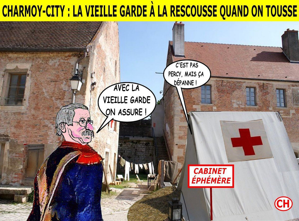 Charmoy-City, la vieille garde à la rescousse quand on tousse