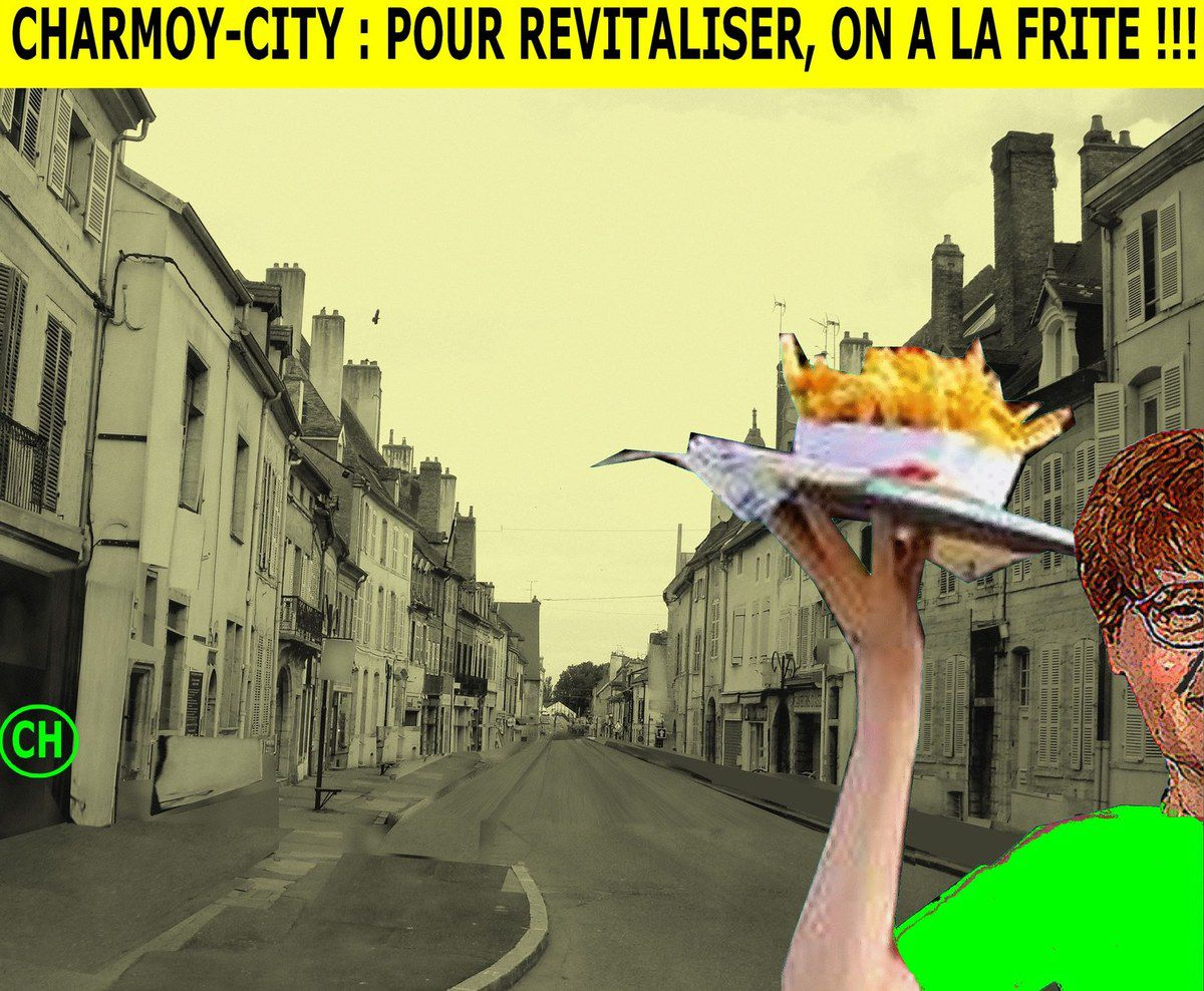 Charmoy-City, pour revitaliser on a la frite