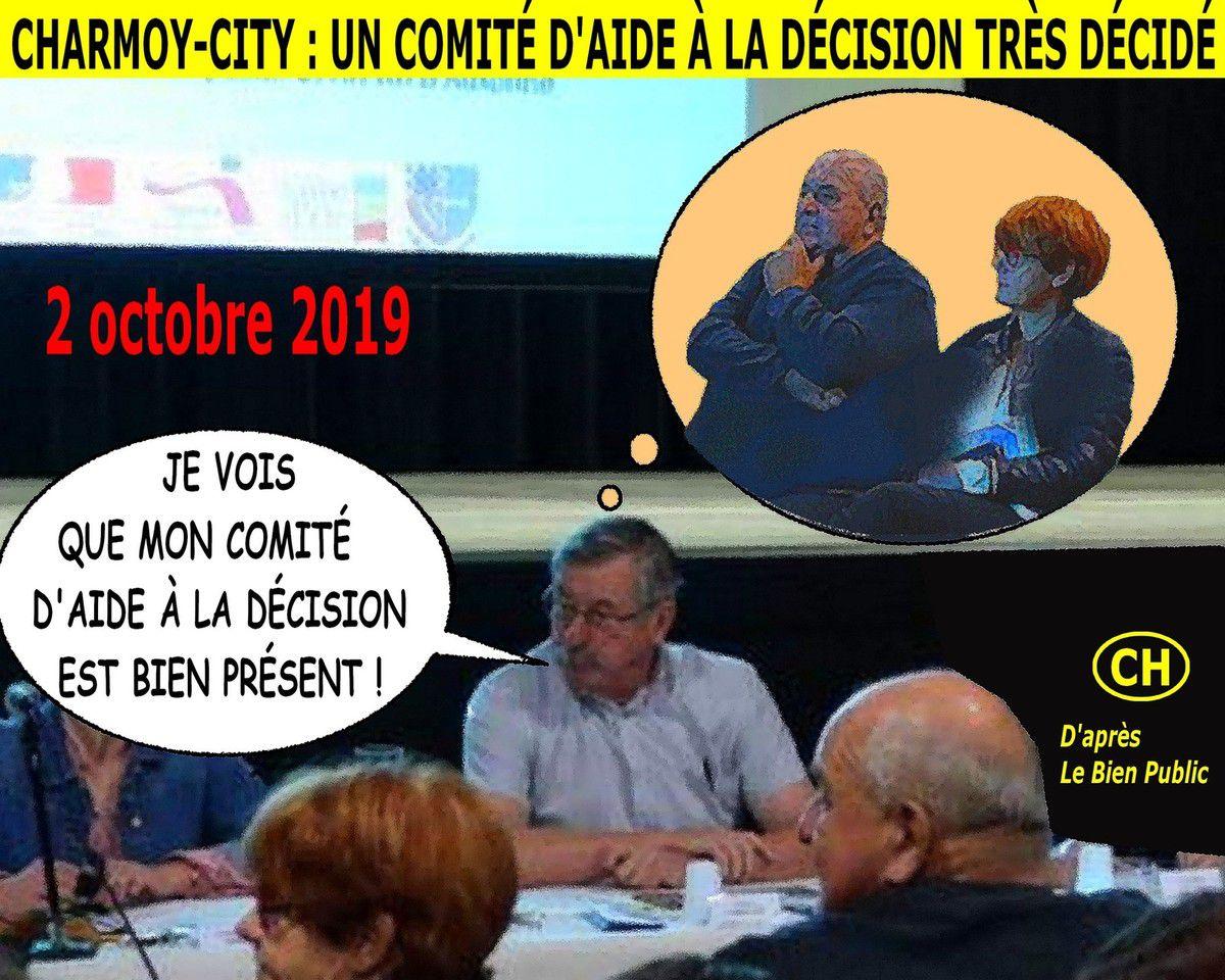 Charmoy-City, un comité d'aide à la décision très décidé