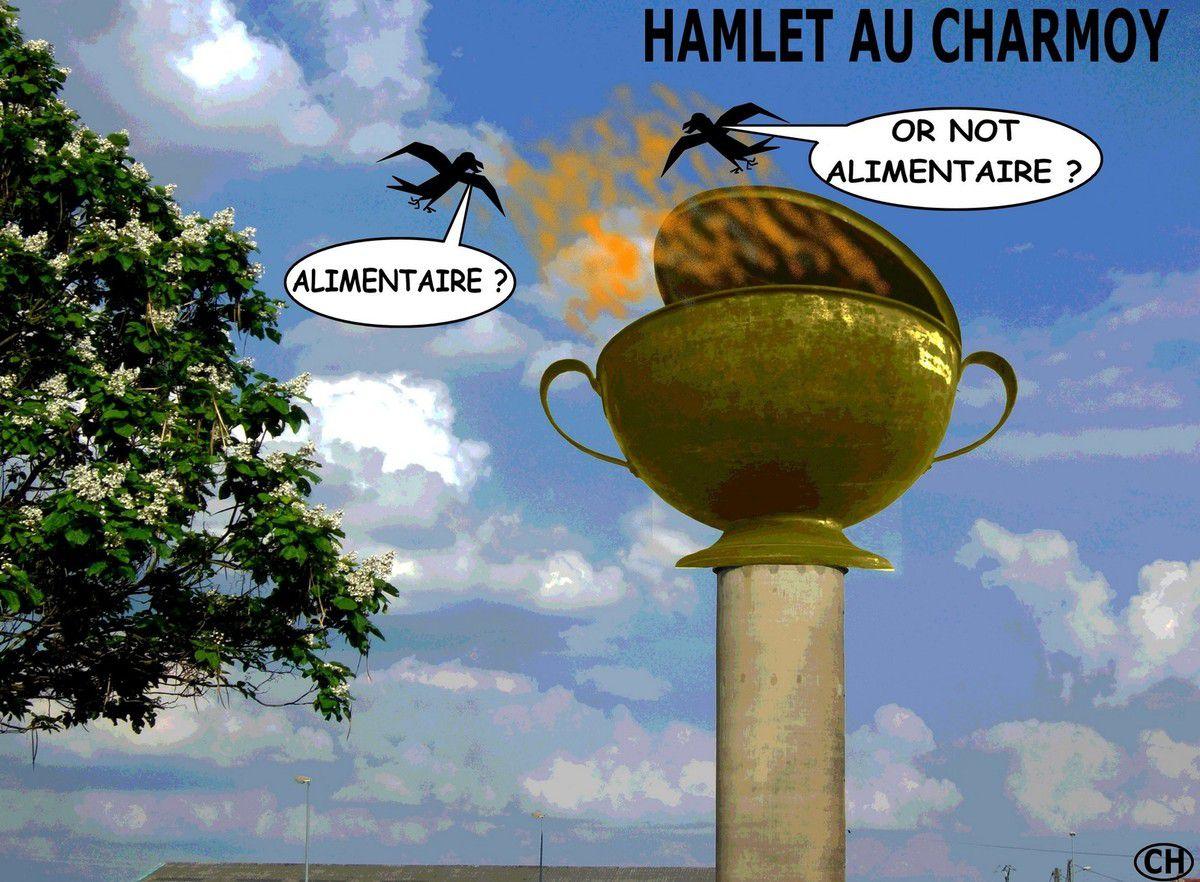 CHARMOY-CITY : LE CHÂTEAU D'EAU DES GRANGES HAUTES, TOTEM DU CHARMOY !  - du 12 OCTOBRE  2019 (J+3951 après le vote négatif fondateur)