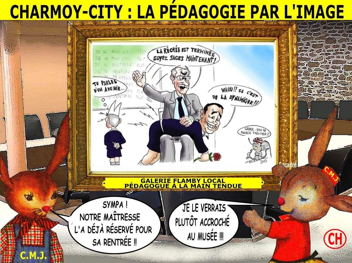 Charmoy-City, la pédagogie par l'image