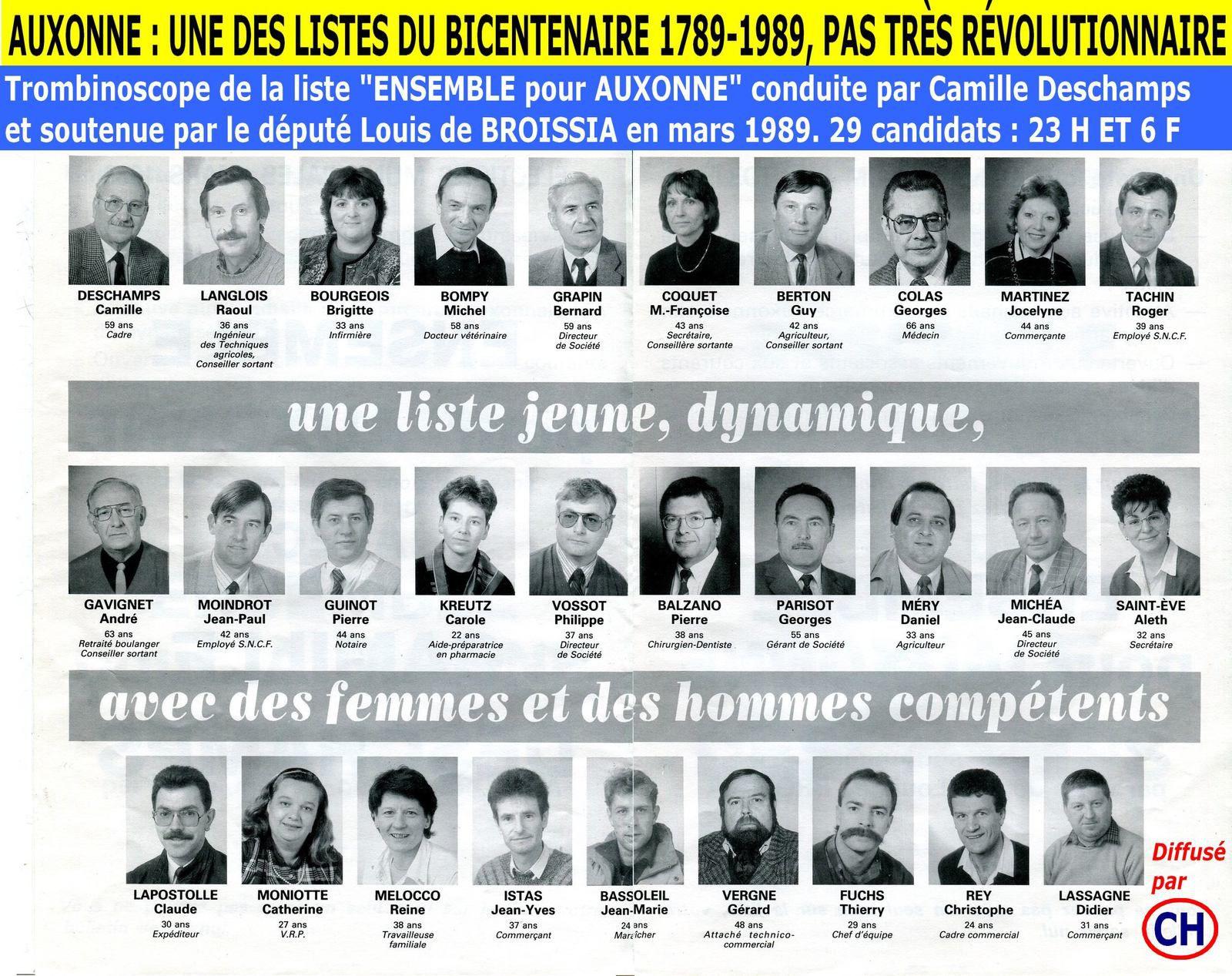 Auxonne, une liste du bicentenaire 1789-1989, pas très révolutionnaire.jpg
