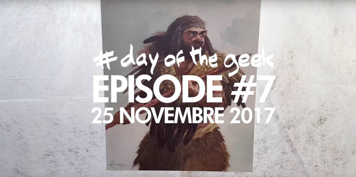 Un Mammouth dans un Festival BD, c'est possible ??? (Day Of the Geek Ep #7)