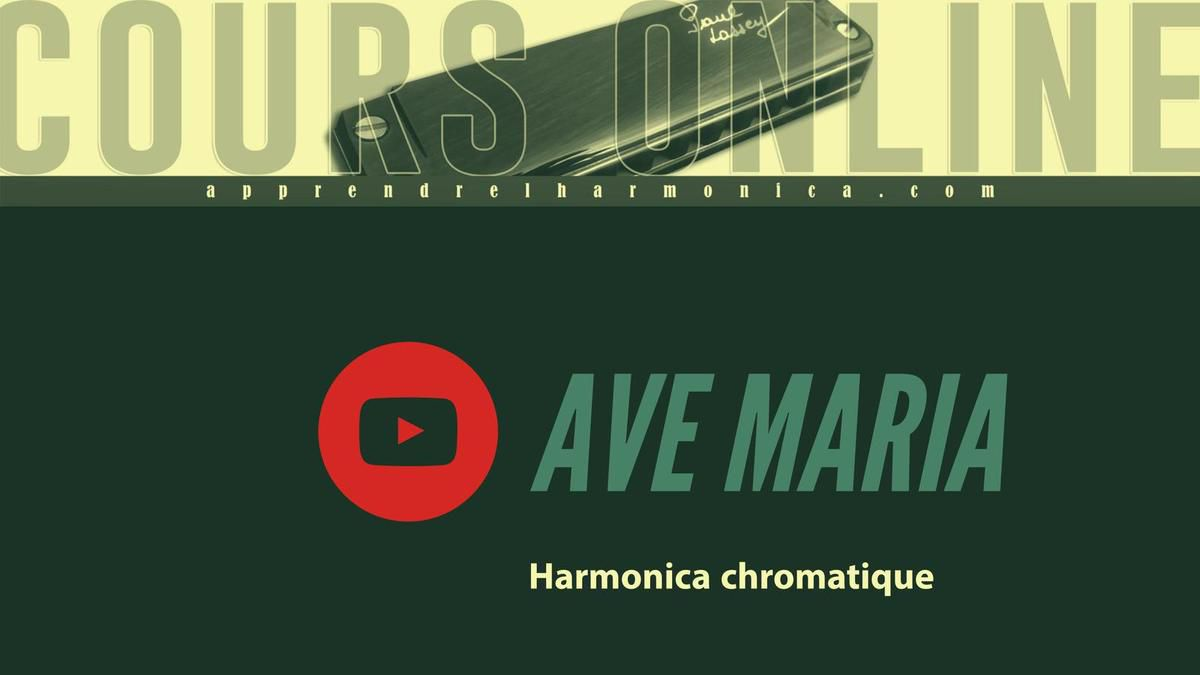 Ave Maria - F. Shubert - Harmonica chromatique