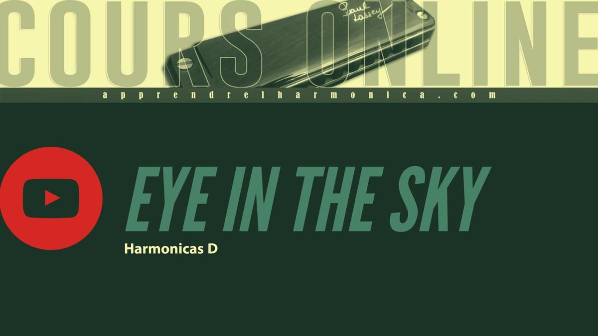Alan Parsons Project - Eye In The Sky - Harmonica D