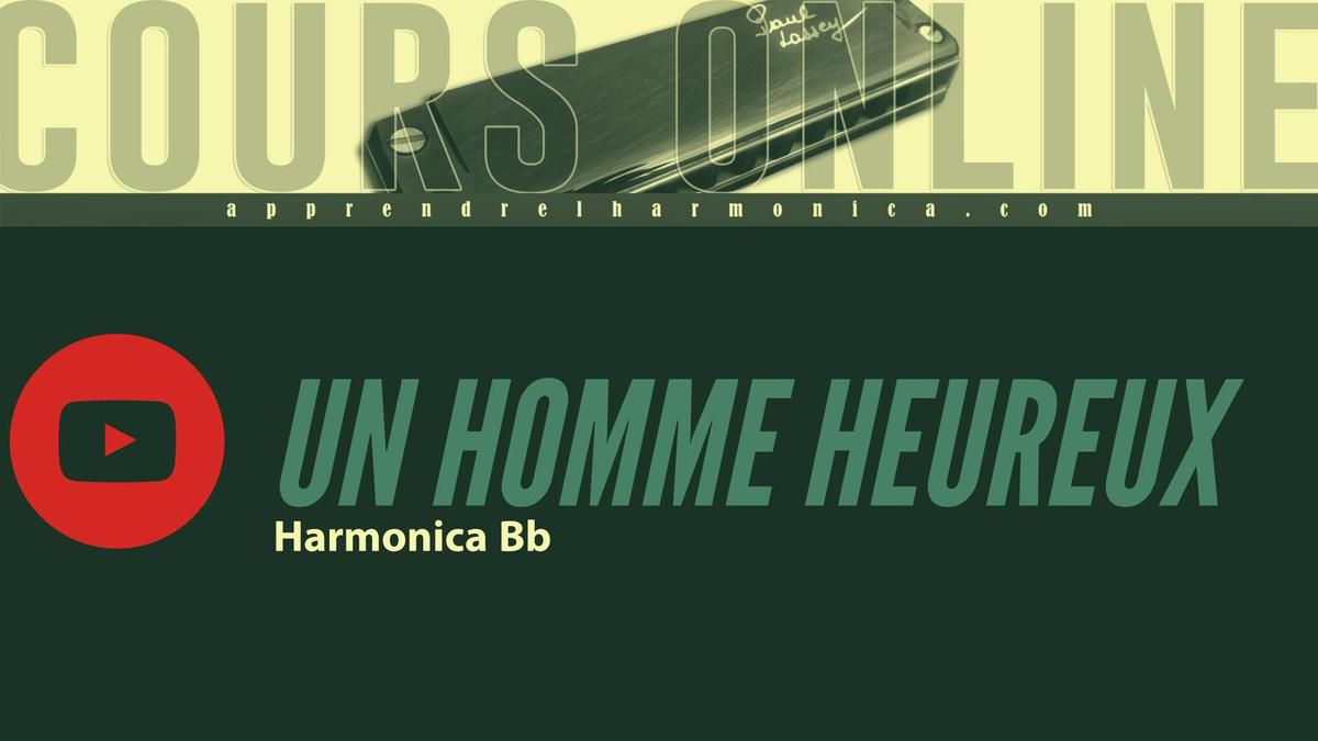 William Sheller - Un Homme Heureux - Harmonica Bb