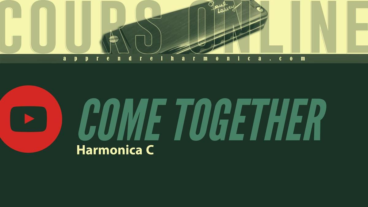 The Beatles - Come together - Harmonica C