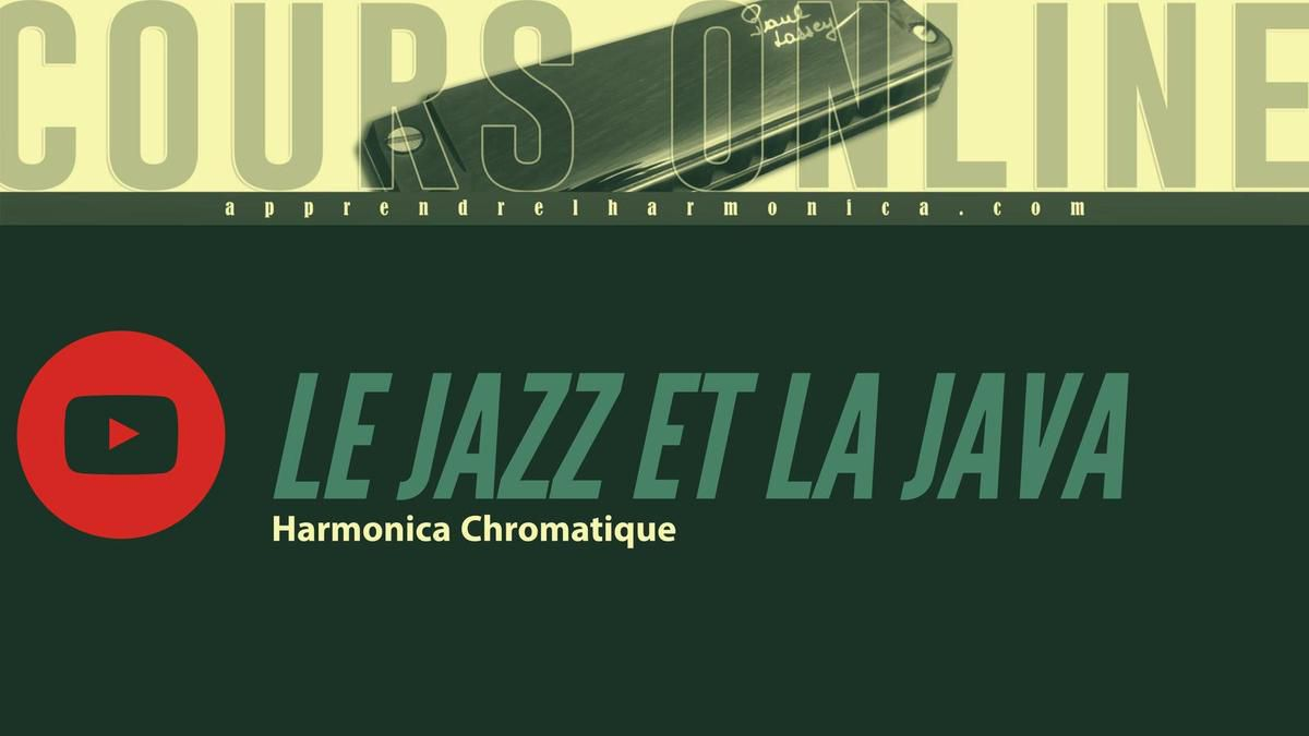 Claude Nougaro - Le Jazz Et La Java - Harmonica chromatique