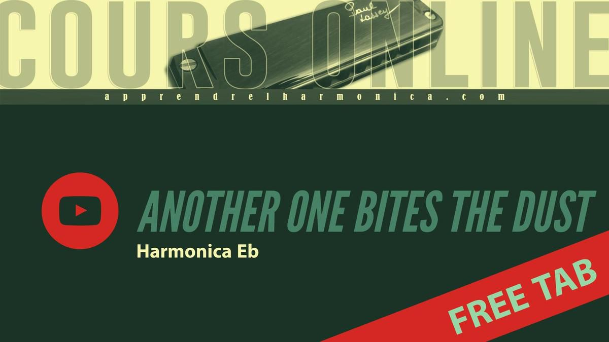Queen - Another one bites the dust - Harmonica Eb