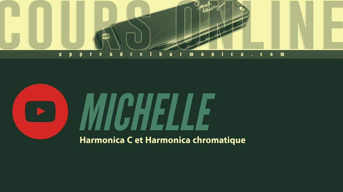 The Beatles - Michelle - Harmonica C et Harmonica chromatique