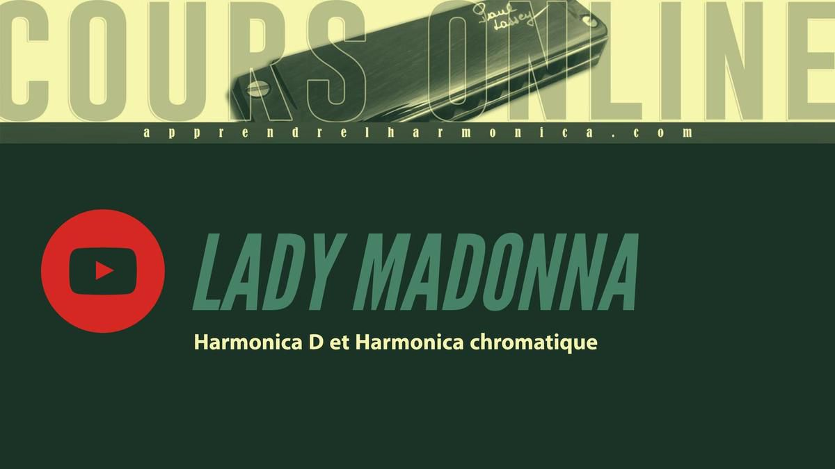 The_Beatles_-_Lady_Madonna - Harmonica D et harmonica chromatique