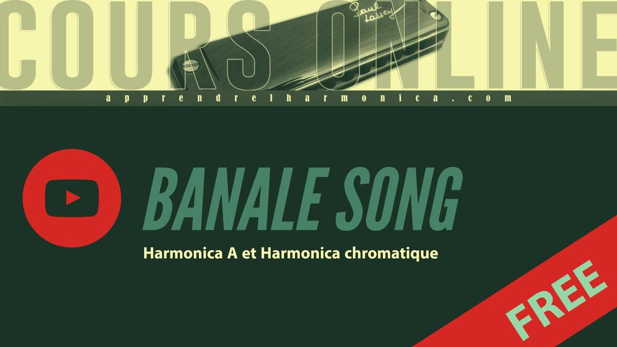 Alain Souchon - Banale Song - Harmonica A