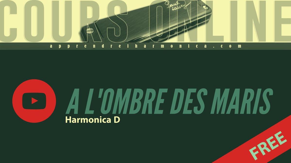 Georges Brassens - A l'ombre des maris - Harmonica D - Le thème