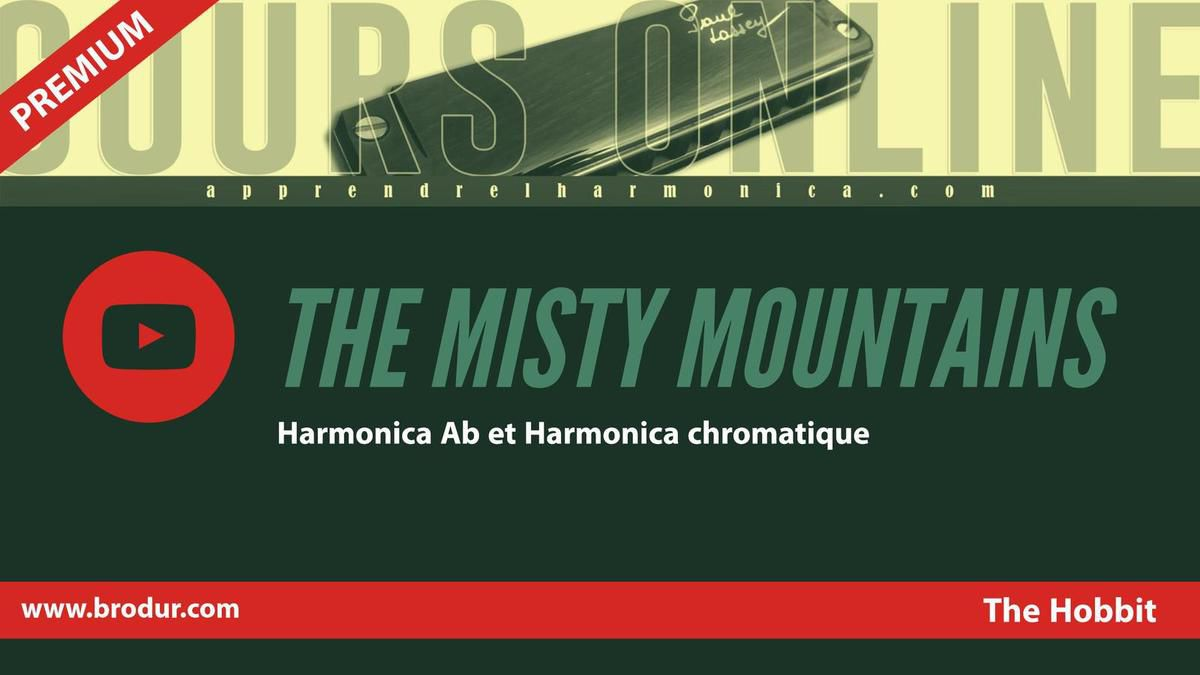 The Hobbit - Misty Mountain - Harmonica Ab et Harmonica chromatique