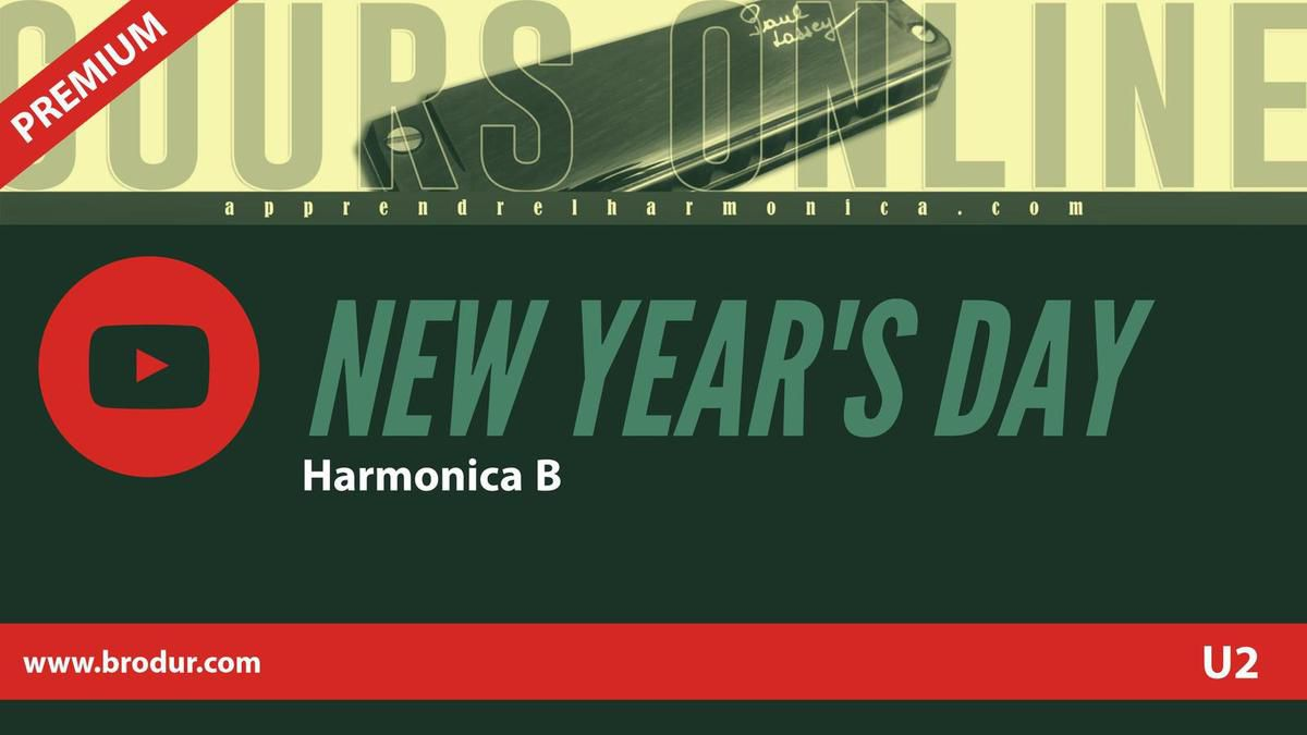U2 - New Year's Day - Harmonica B
