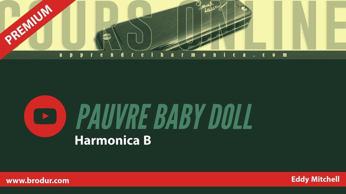 Eddy Mitchell - Pauvre Baby Doll - Harmonica B
