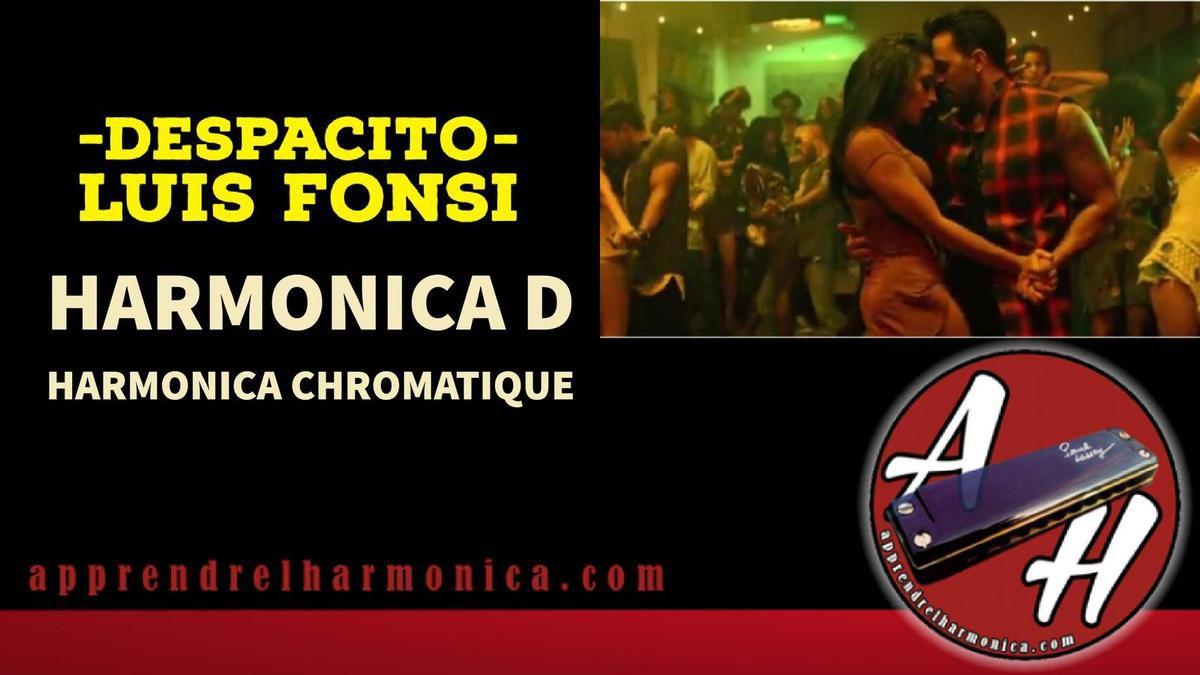 Despacito - Luis Fons - Harmonica D et Harmonica Chromatique